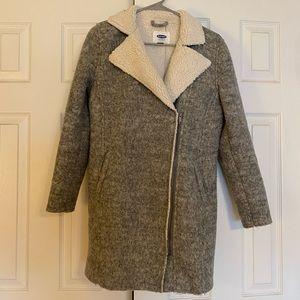 Old navy gray coat